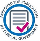 Approved by Clinical Governance