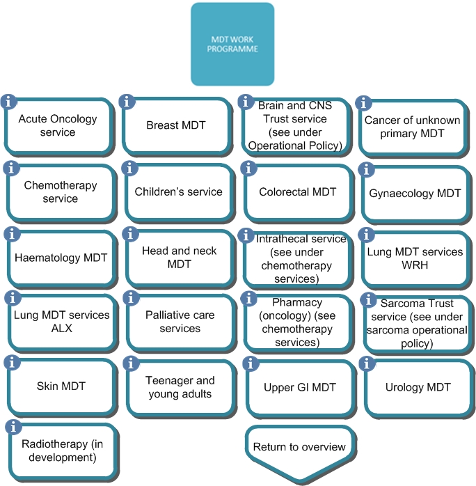 Pathway image for MDT work programme